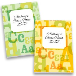 ABC123 Personalized Journal Set