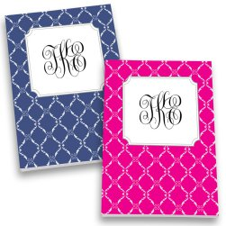 Stafford Monogram Personalized Journal Set