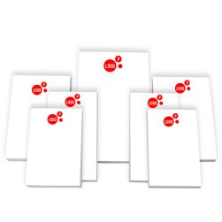 Your Logo 7-Tablet Set - White Tablets Only