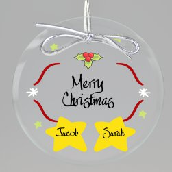 Starry Night Keepsake Printed Ornament