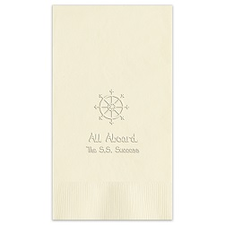 Oceanic Guest Towel - Embossed