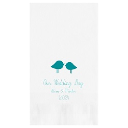 Wedding Guest Towel - Foil-Pressed