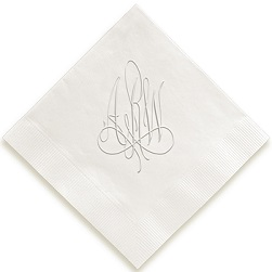 Heartfield Monogram Napkin - Embossed