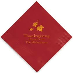 Autumn Napkin - Foil-Pressed