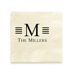 Millport Foil-Pressed Napkin