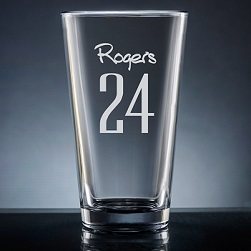 Numero Pint Glass