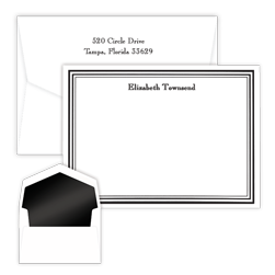 Colonial Card with Pinnacle Envelopes