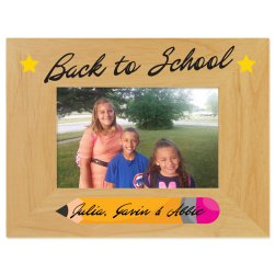 Back to School Printed Picture Frame