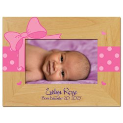 Bella Baby Printed Picture Frame