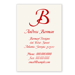 Reserve Calling Card