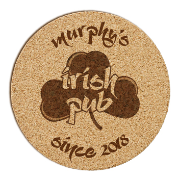 Irish Pub Cork Coaster