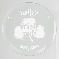 Irish Pub Glass Coaster