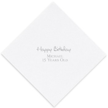 Celebration Luxury AirLaid Napkin - Foil-Pressed