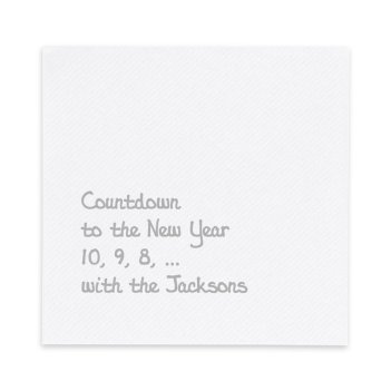 Joyous Luxury AirLaid Napkin - Foil-Pressed