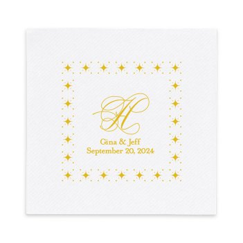 Capital Luxury AirLaid Napkin - Foil-Pressed