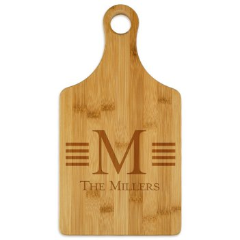 Millport Paddle Cutting Board - Engraved