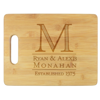 Established Cutting Board - Engraved