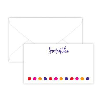Polka Dots Enclosure Card - Digital Print