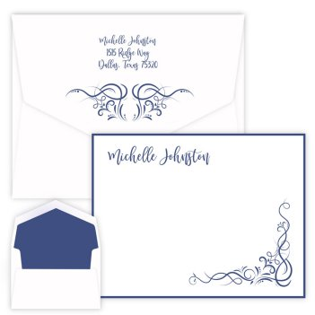 Inspirational Scroll Card - Raised Ink