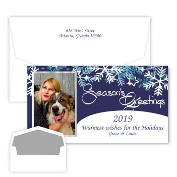 Seasons Greetings Holiday Photo Card