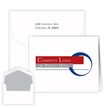 Your Logo Folding Note - Digital Print