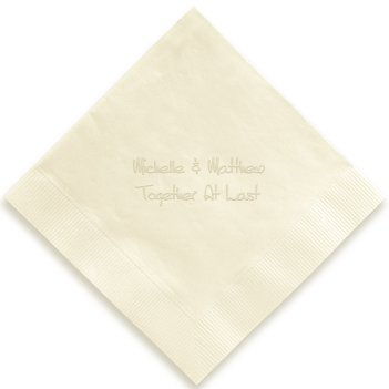 Anthony Napkin - Embossed