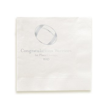 Athlete Napkin - Foil-Pressed
