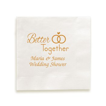 Better Together Napkin - Foil-Pressed