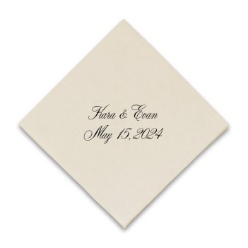 Chesterfield Coaster Napkin - Raised Ink