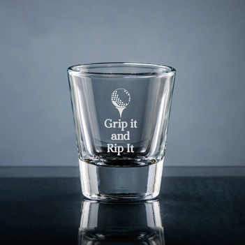 Athlete Shot Glass