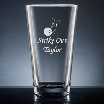 Athlete Pint Glass