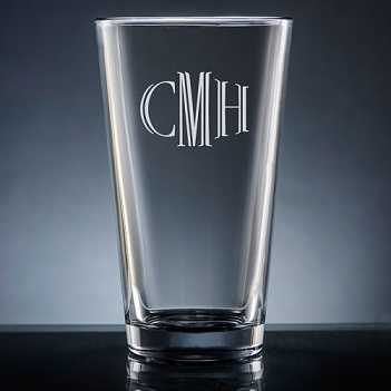 Altamira Monogram Pint Glass