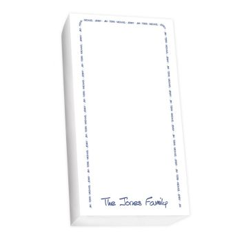 Family Arch List - White REFILL
