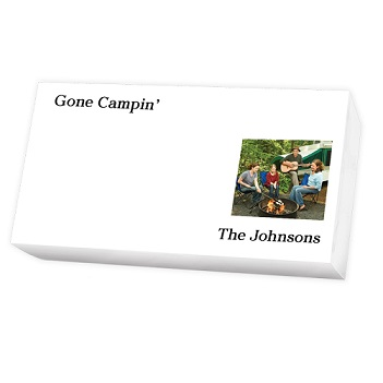 Family Photo List - White REFILL
