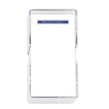 Presidential Mini List - White with holder