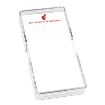 Apple Mini List - White with holder