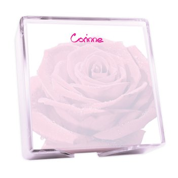 Rosa Memo Square - White with holder