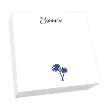 Tropical Breeze Memo Square - White Refill