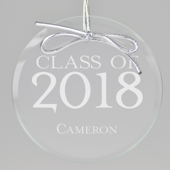 Senior Class Keepsake Ornament - Circle