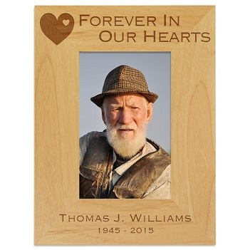 Forever In Our Hearts Picture Frame