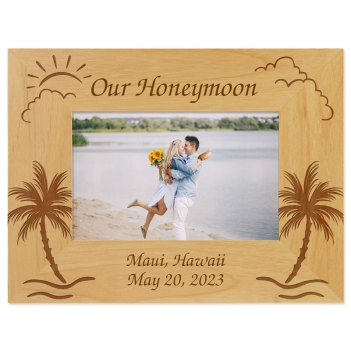 Honeymoon Picture Frame