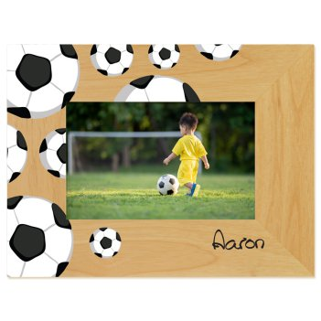 Soccer Printed Picture Frame