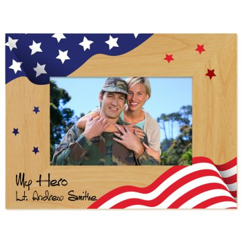 Our Hero Printed Picture Frame