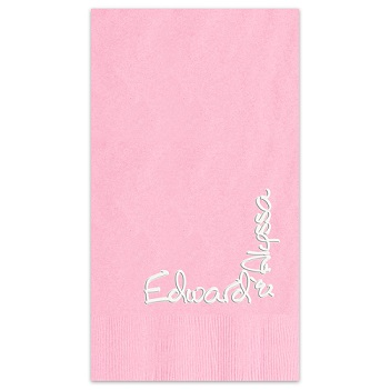 Blissful Color Mist Pearl Guest Towel