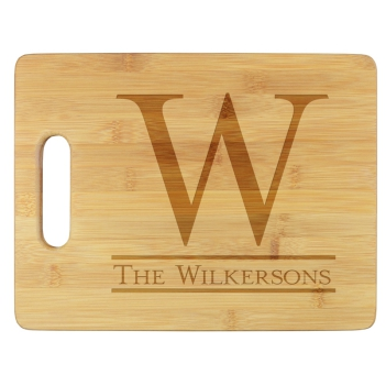 Newton Cutting Board - Engraved