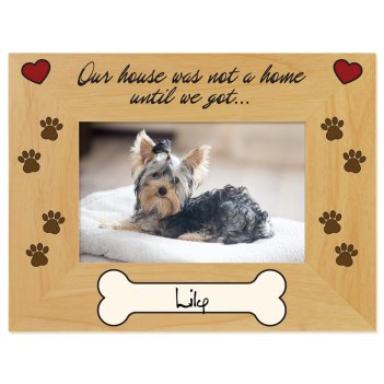 Pawsitively Yours Printed Picture Frame