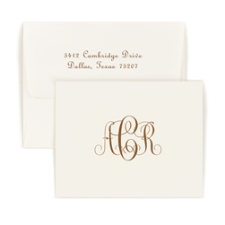 Monogram Note - Double Thick