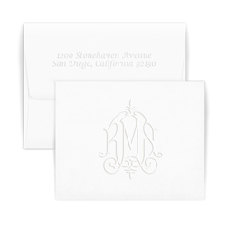 Whitlock Monogram Note