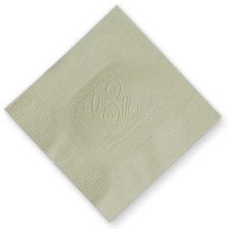 Granada Monogram Embossed Napkins
