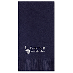 Custom Foil-Pressed Guest Towel